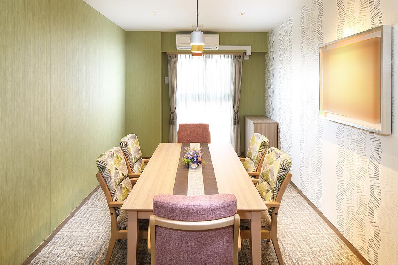 ボンセジュール聖蹟桜ヶ丘(住宅型有料老人ホーム)の画像(6)1Fファミリールーム
