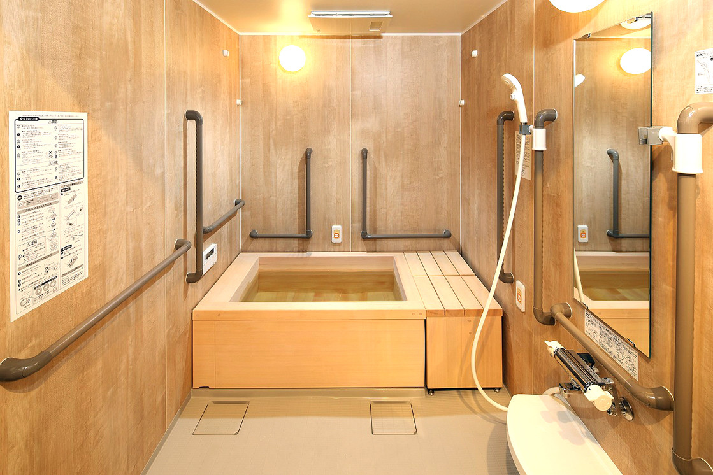 グランダ目白落合(介護付有料老人ホーム(一般型特定施設入居者生活介護))の画像(9)檜風呂