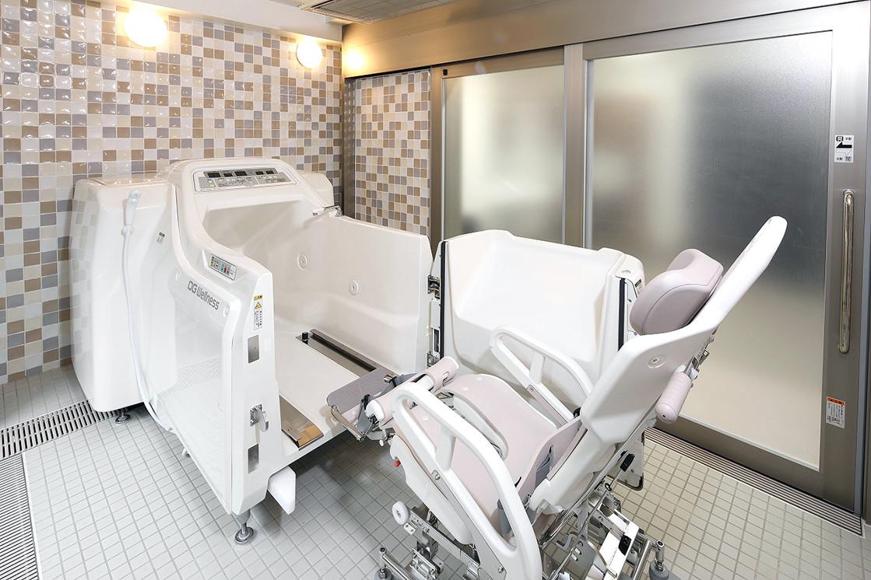 グランダ目白落合(介護付有料老人ホーム(一般型特定施設入居者生活介護))の画像(10)B1F 機械浴