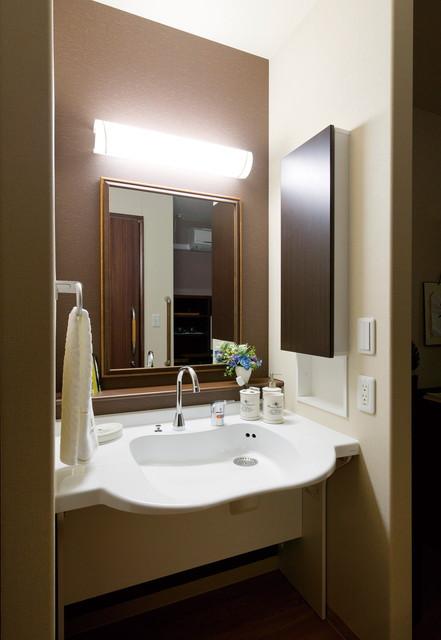 SOMPOケア ラヴィーレ千葉椿森(介護付有料老人ホーム)の画像(12)洗面化粧台