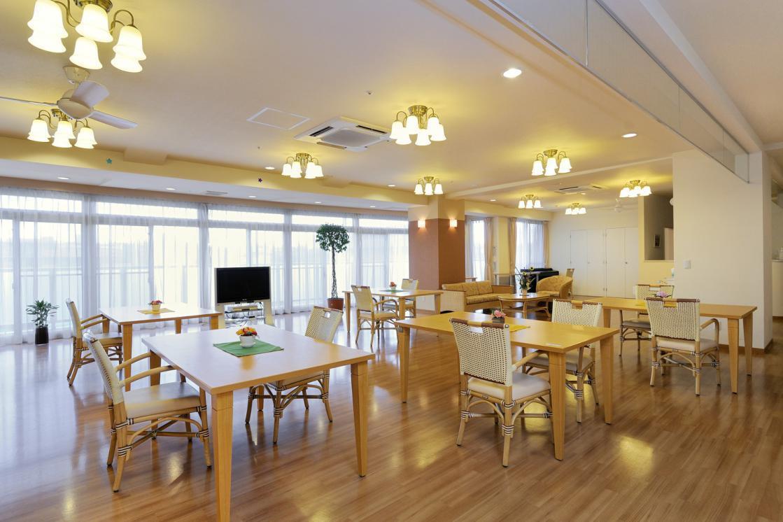 メディカル・リハビリホームボンセジュール千葉(介護付有料老人ホーム(一般型特定施設入居者生活介護))の画像(5)リビングルーム