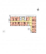 ニチイホーム西国分寺(介護付有料老人ホーム)の画像(9)フロアマップ2階