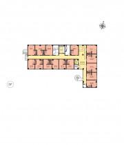 ニチイホーム西国分寺(介護付有料老人ホーム)の画像(10)フロアマップ3階