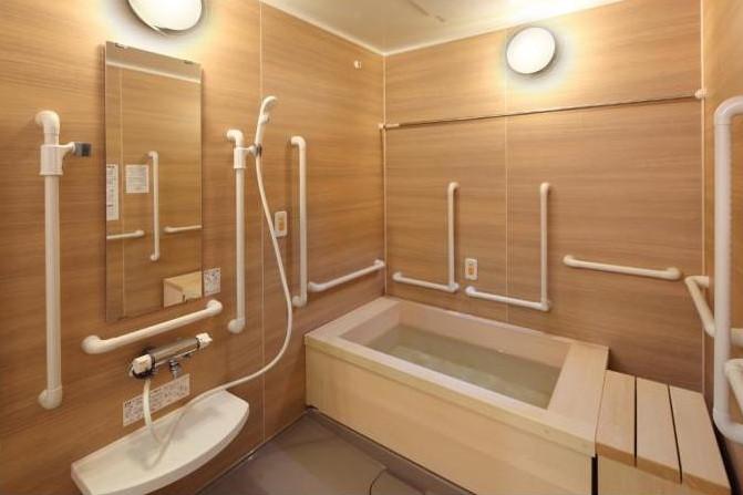メディカルホームグランダ三軒茶屋(住宅型有料老人ホーム)の画像(9)5F 浴室