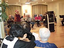 イリーゼ立川(介護付有料老人ホーム(一般型特定施設入居者生活介護))の画像(9)イベント風景