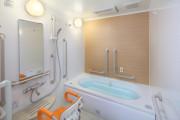 ここち稲毛(介護付有料老人ホーム(介護専用型/一般型特定入居者生活介護))の画像(6)2F 浴室