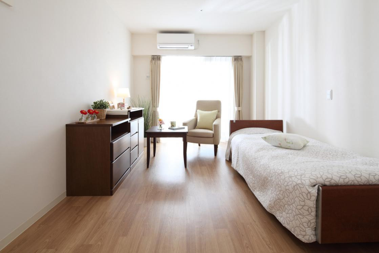 ここち稲毛(介護付有料老人ホーム(介護専用型/一般型特定入居者生活介護))の画像(2)居室イメージ