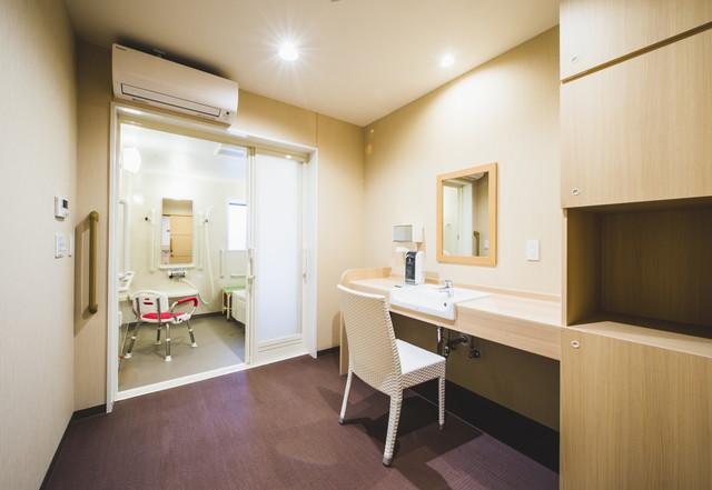 クラーチ・メディーナ千葉(住宅型有料老人ホーム)の画像(2)浴室