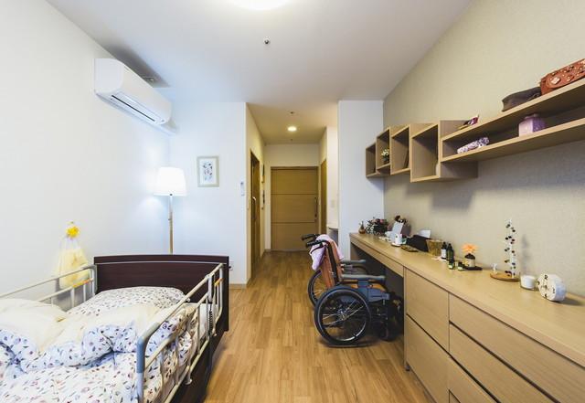 クラーチ・メディーナ千葉(住宅型有料老人ホーム)の画像(7)居室