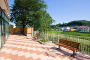 シルバービレッジ八王子西(介護付有料老人ホーム)の画像(4)ホーム内庭園