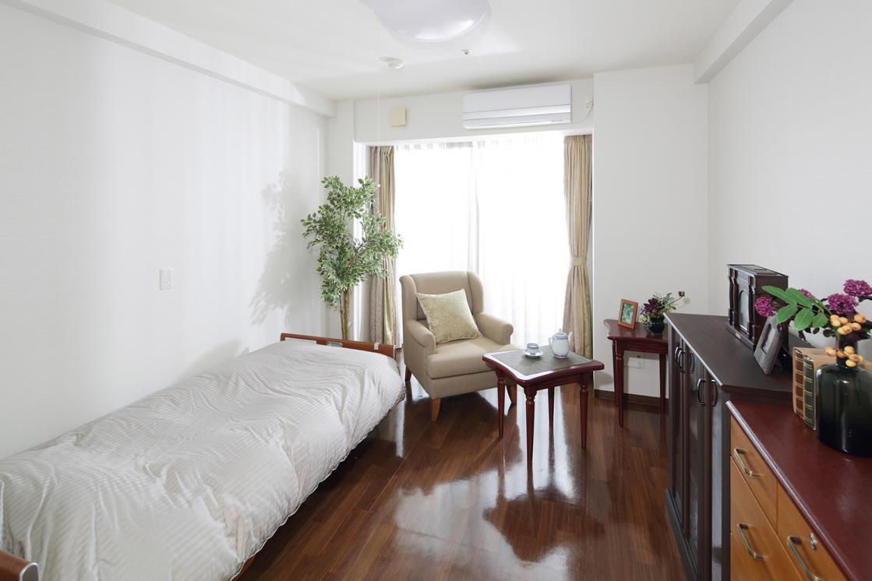 アリア馬事公苑(介護付有料老人ホーム(一般型特定施設入居者生活介護))の画像(2)居室イメージ