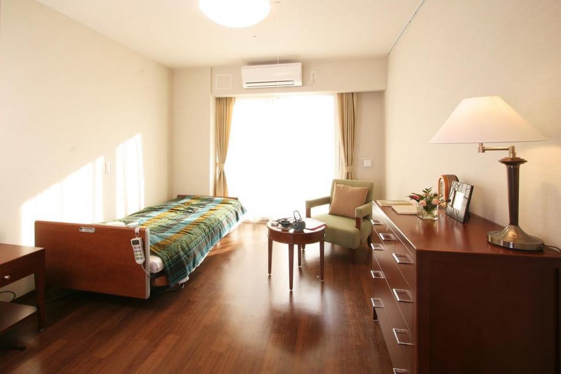 アリア松原(介護付有料老人ホーム(一般型特定施設入居者生活介護))の画像(2)居室イメージ