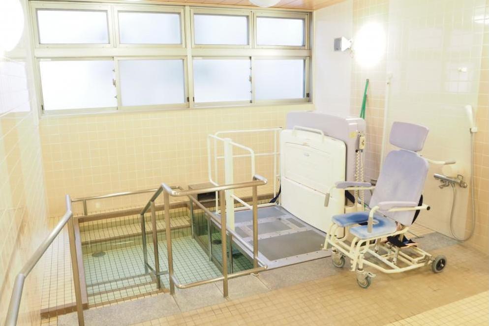 まどか永山(介護付有料老人ホーム(介護専用型/一般型特定入居者生活介護))の画像(5)1F 浴室