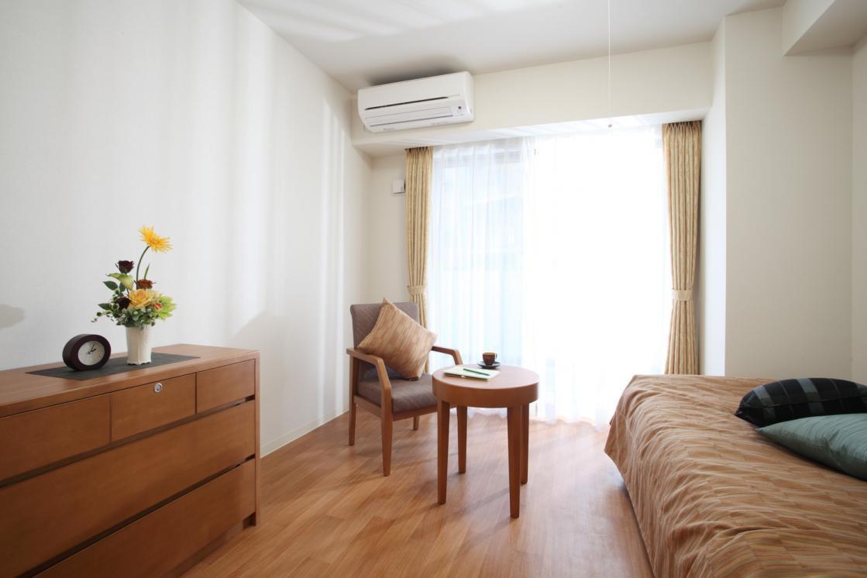 グランダ喜多見(介護付有料老人ホーム(一般型特定施設入居者生活介護))の画像(2)居室イメージ