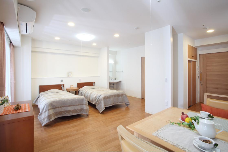 グランダ喜多見(介護付有料老人ホーム(一般型特定施設入居者生活介護))の画像(3)居室イメージ