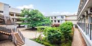 ゆうらいふ世田谷(介護付有料老人ホーム)の画像(7)緑が沢山のお庭です