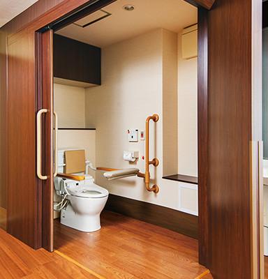 ゆうらいふ世田谷(介護付有料老人ホーム)の画像(19)居室 トイレ