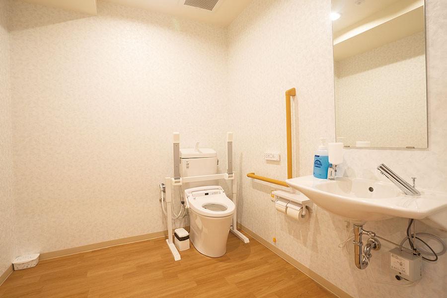 イリーゼ狭山・富士見(介護付有料老人ホーム)の画像(15)共用トイレ