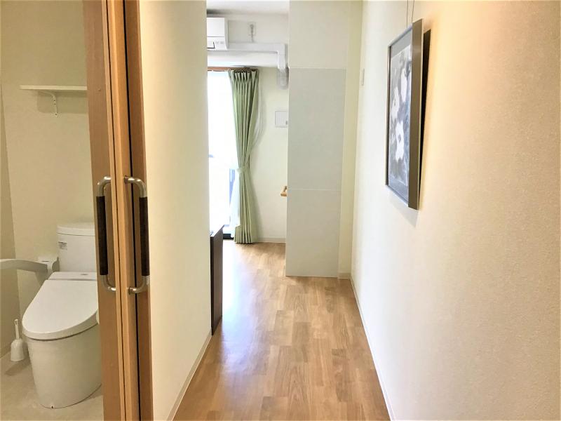 ココファン川越大手町(サービス付き高齢者向け住宅)の画像(9)居室・Bタイプ廊下