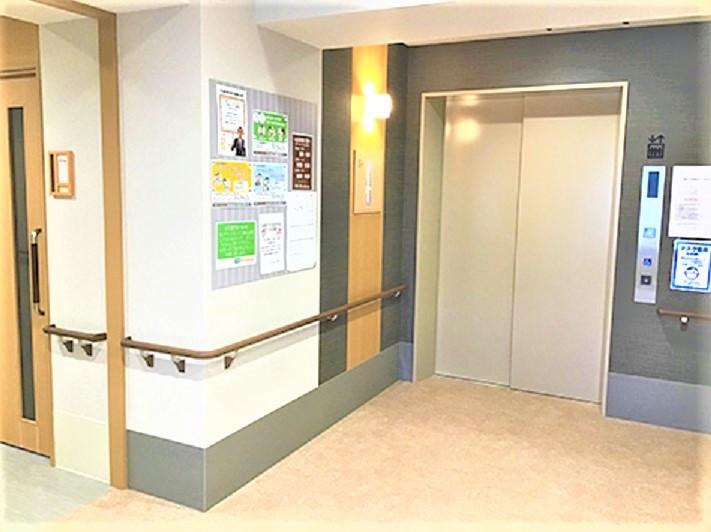 ココファン川越大手町(サービス付き高齢者向け住宅)の画像(27)エレベーター