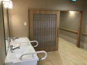 ライブラリ越谷(サービス付き高齢者向け住宅(一般型特定施設入居者生活介護))の画像(6)食堂入口
