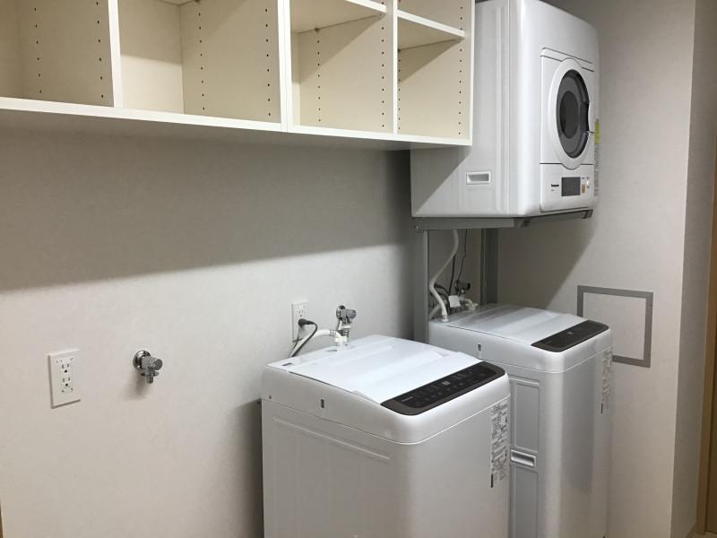 ライブラリ越谷(サービス付き高齢者向け住宅(一般型特定施設入居者生活介護))の画像(23)共有洗濯室