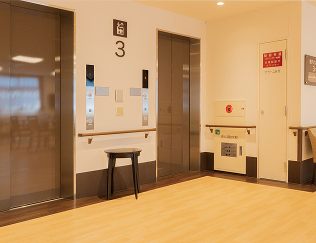 リアンレーヴ入間中央(介護付有料老人ホーム(一般型特定施設入居者生活介護))の画像(12)エレベータ