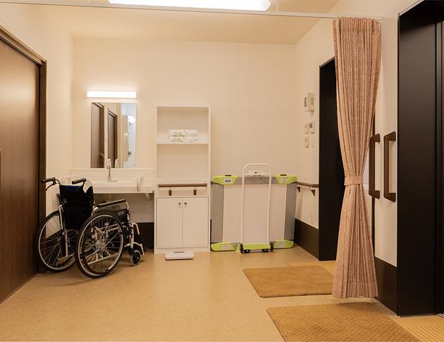 リアンレーヴ入間中央(介護付有料老人ホーム(一般型特定施設入居者生活介護))の画像(16)脱衣所