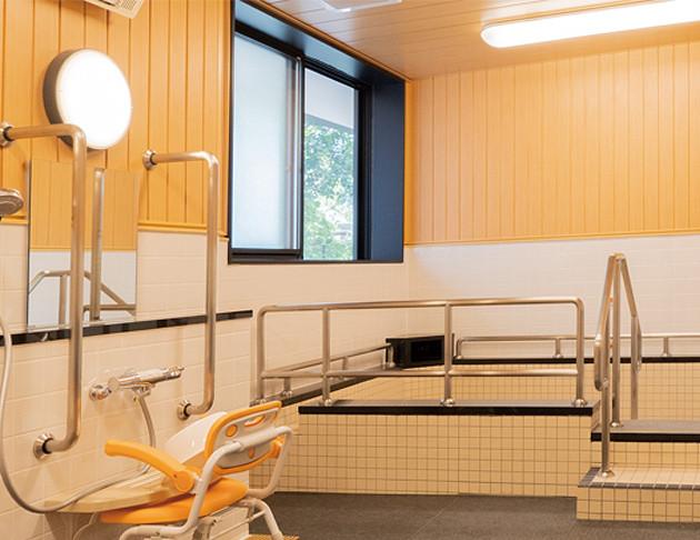 リアンレーヴ入間中央(介護付有料老人ホーム(一般型特定施設入居者生活介護))の画像(18)大浴場