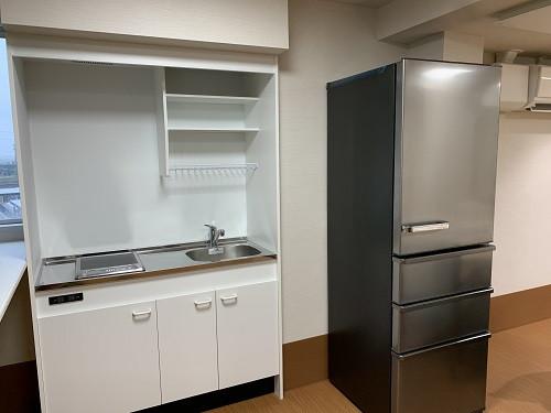 ガーデンコート朝霞(住宅型有料老人ホーム)の画像(20)食堂キッチン