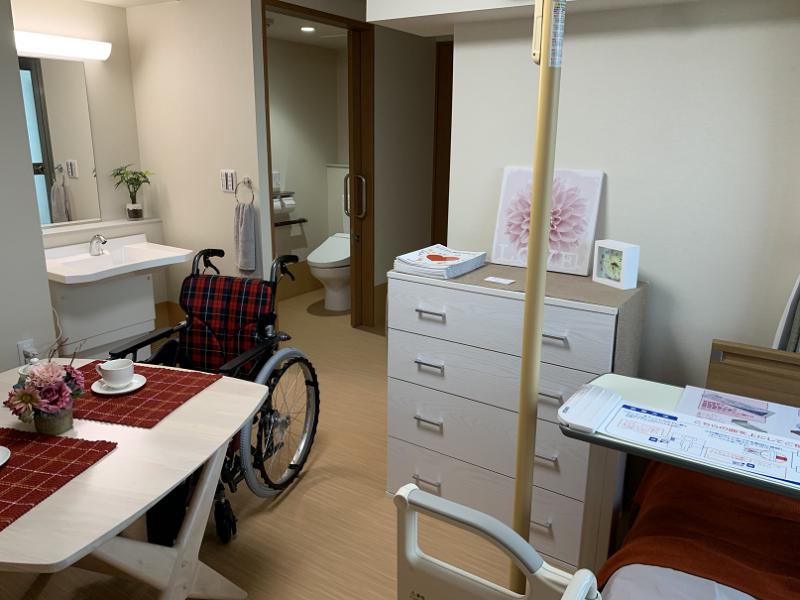 ガーデンコート朝霞(住宅型有料老人ホーム)の画像(18)居室:モデルルーム