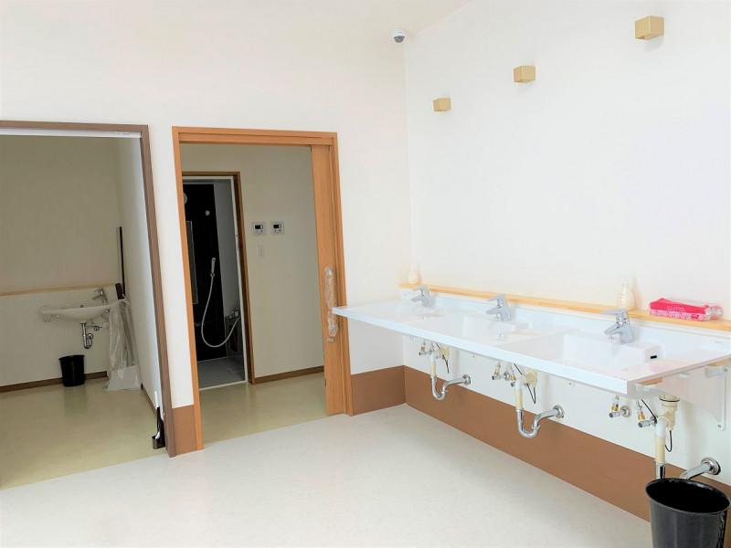 ヴィベル羽生(住宅型有料老人ホーム)の画像(12)リビング洗面所