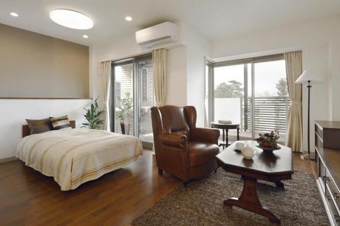 成城歐林邸(介護付有料老人ホーム(一般型特定施設入居者生活介護))の画像(2)居室イメージ