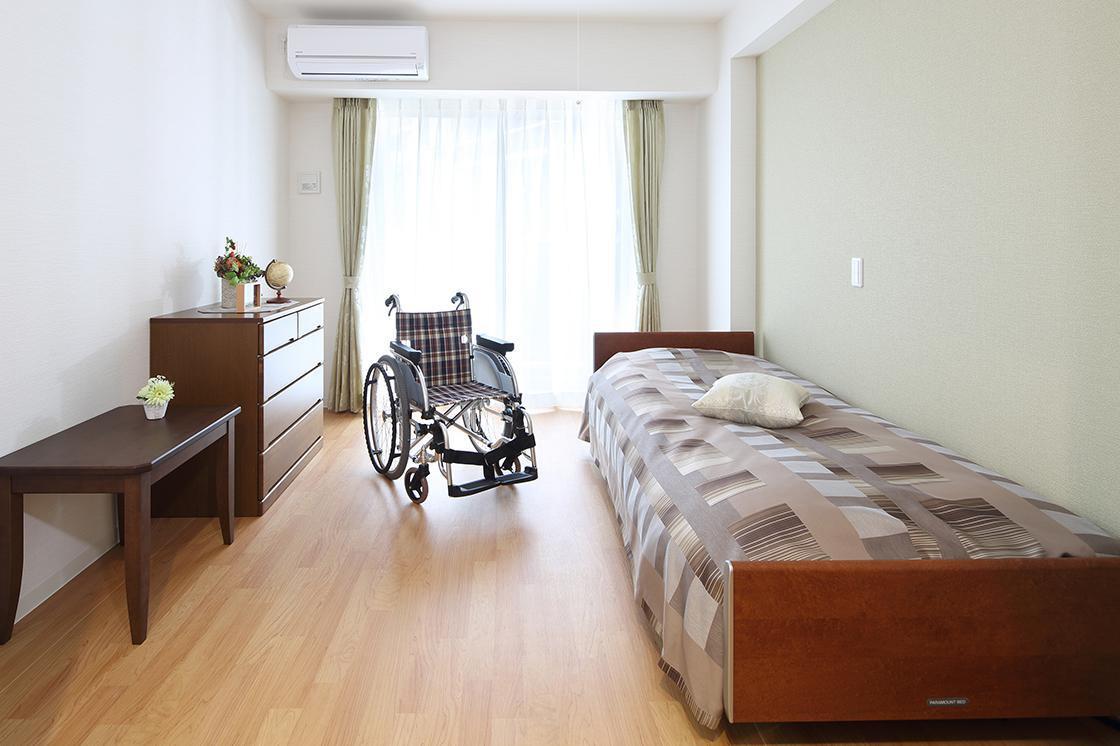 くらら西馬込(サービス付き高齢者向け住宅/介護付有料老人ホーム(一般型特定施設入居者生活介護))の画像(2)2F 居室イメージ
