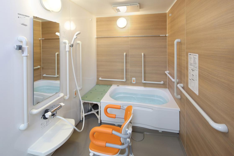 ボンセジュール武蔵小杉(住宅型有料老人ホーム)の画像(9)浴室