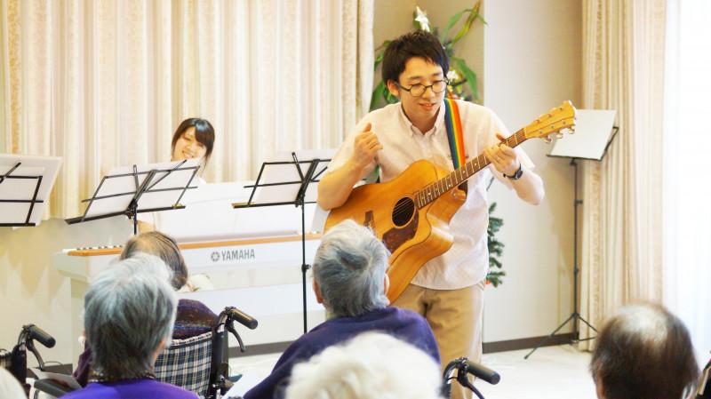 リュエル・シャンテール(住宅型有料老人ホーム)の画像(11)音楽療法