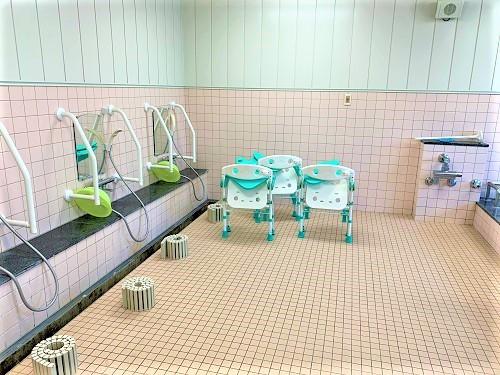ココファン高坂(介護付有料老人ホーム(一般型特定施設入居者生活介護)/サービス付き高齢者向け住宅)の画像(23)大浴場