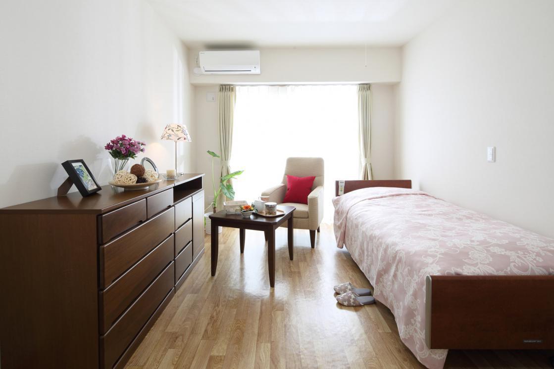 まどか南与野(サービス付き高齢者向け住宅/介護付有料老人ホーム(一般型特定施設入居者生活介護))の画像(2)居室イメージ
