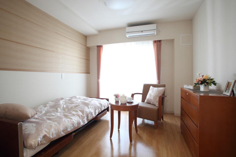 グランダ多摩川・大田(介護付有料老人ホーム(一般型特定施設入居者生活介護))の画像(2)居室イメージ