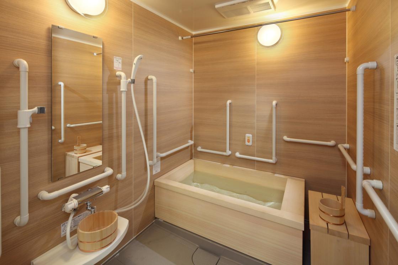 グランダ西馬込(介護付有料老人ホーム(一般型特定施設入居者生活介護))の画像(8)浴室