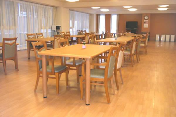 ココファン鴻巣(サービス付き高齢者向け住宅)の画像(2)食堂