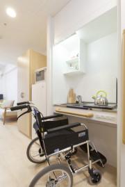 グレイプスフェリシティ戸塚(サービス付き高齢者向け住宅)の画像(9)居室のキッチン