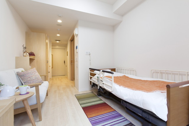 グレイプスフェリシティ戸塚(サービス付き高齢者向け住宅)の画像(8)居室