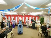 グッドタイムナーシングホーム・東浦和(介護付有料老人ホーム)の画像(24)クリスマス会