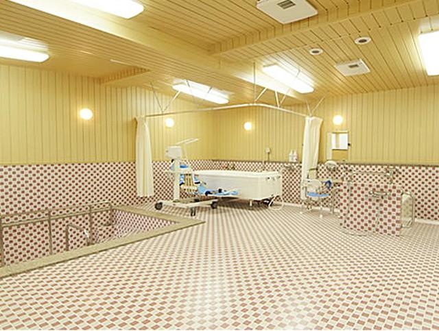 グッドタイムナーシングホーム・東浦和(介護付有料老人ホーム)の画像(17)大浴場/機械浴槽