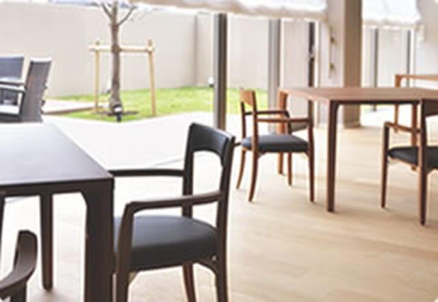 カーサプラチナ草加(介護付有料老人ホーム)の画像(9)食堂.2