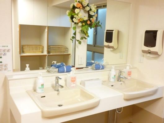ココファン川口榛松(サービス付き高齢者向け住宅)の画像(3)洗面台