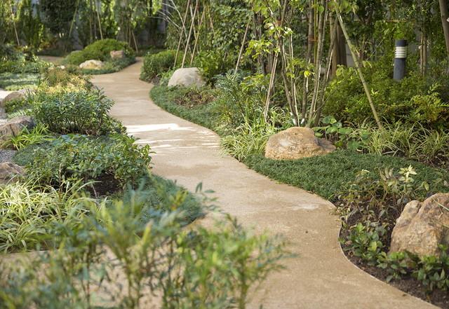 トラストガーデン東嶺町(介護付有料老人ホーム)の画像(5)庭園