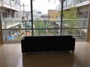フェリオ多摩川(介護付有料老人ホーム)の画像(16)エレベーター前の廊下