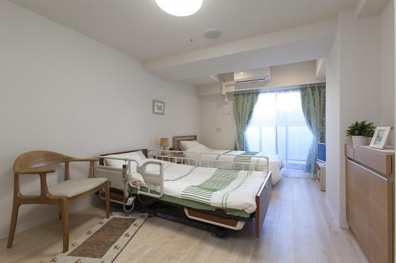 グレイプスウィズ大森西(サービス付き高齢者向け住宅/介護付有料老人ホーム(一般型特定施設入居者生活介護))の画像(3)2人部屋